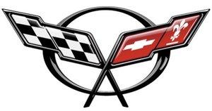 Эмблема Corvette