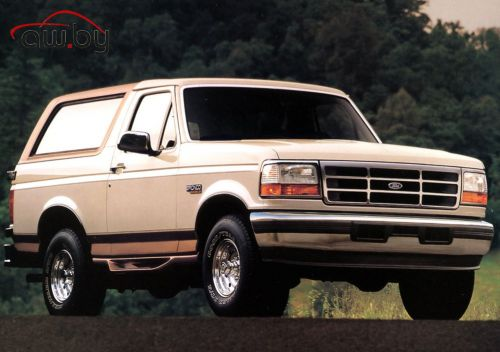 Ford Bronco EFl 5.0 V8