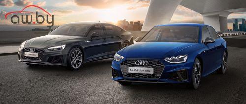 Audi привезла в Россию лимитированные A4 и A5 Sportback
