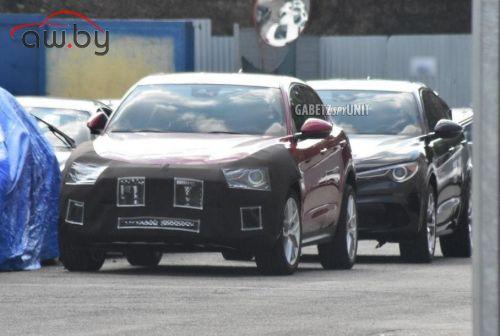 Maserati тестирует новый кроссовер