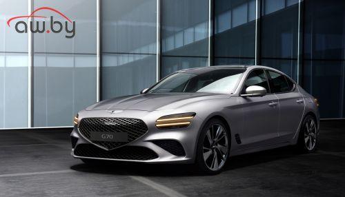 Genesis представил рестайлинговый седан G70 (фото)
