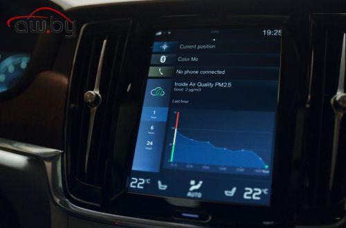 Volvo представила новую систему очистки воздуха в салоне