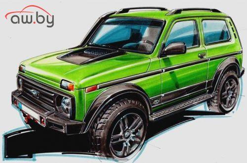 В Германии соберут лимитированную Lada 4x4 за 1,8 млн рублей