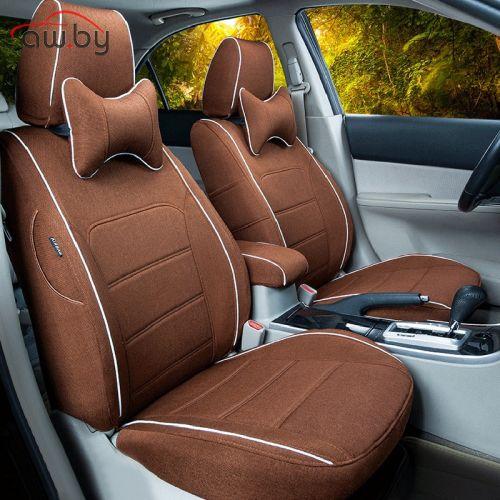 Чехлы на сиденья автомобиля из экокожи и алькантары - что лучше?