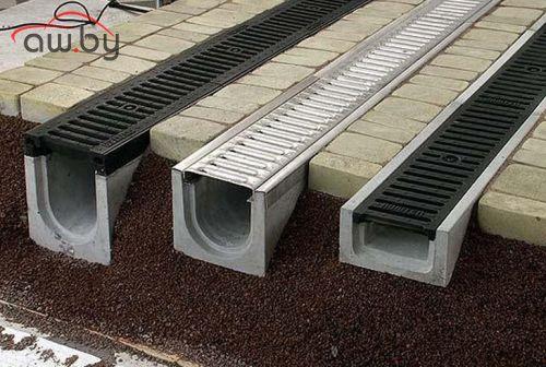 Ливневые лотки бетонные - преимущества и характеристики