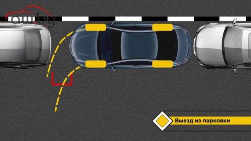 Как выезжать с парковки задним ходом