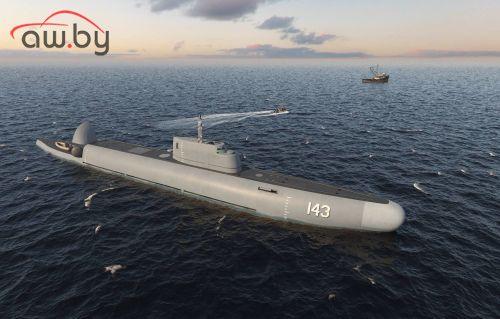 В России разработали первый ныряющий патрульный корабль (фото)