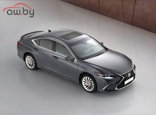 Lexus обновил бизнес-седан ES