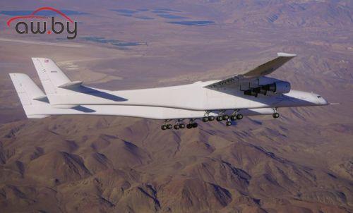 Самый большой самолет в мире поднялся в воздух