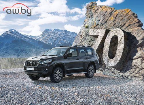 «Тойота» выпустила юбилейную версию Land Cruiser Prado в России