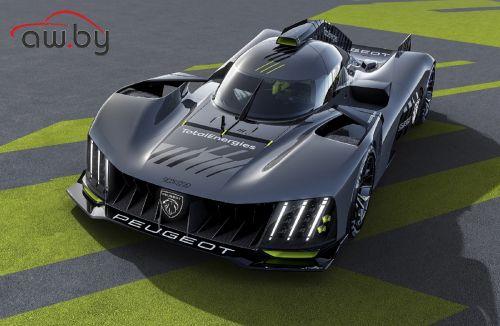 Peugeot представила новый гиперкар: фото и видео
