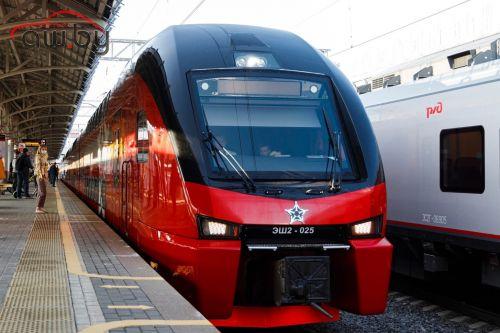 На МЦК запустили двухэтажный поезд (фото)